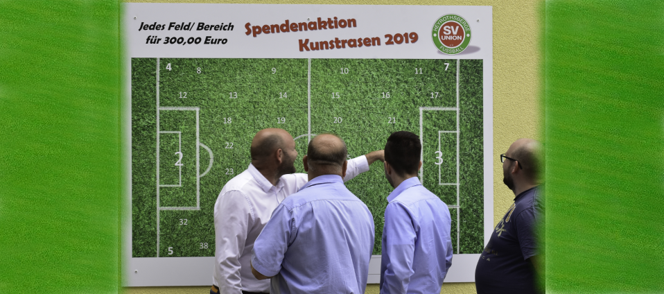 Spendenaktion Kunstrasen 2019